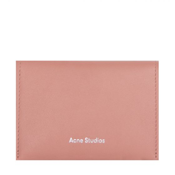 Acne Studios 'Leather' Card Wallet Multi Pink