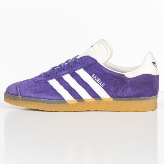 RE-POCKETS ADIDAS TRAINERS Gazelle Trainers Purple/White