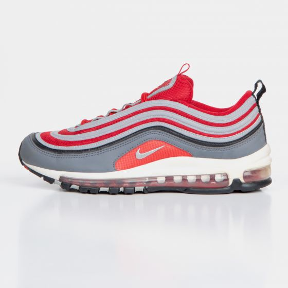 RE-POCKETS NIKE TRAINERS RE-POCKETS Air Max 97 - Dark Grey / Gym Red / White