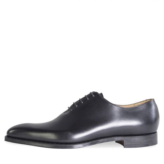 Crockett & Jones 'Alex' Calf Leather Shoes Black