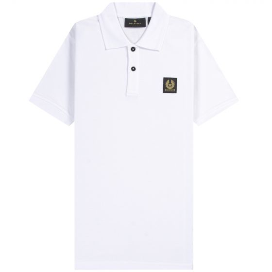Belstaff  'Classic SS' Polo White
