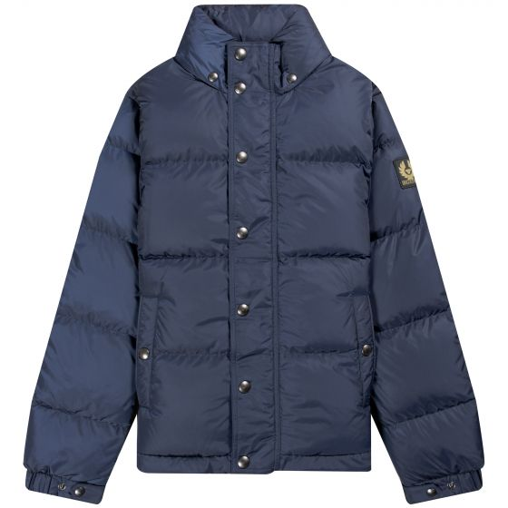 Belstaff  Dome Down Jacket Dark Navy