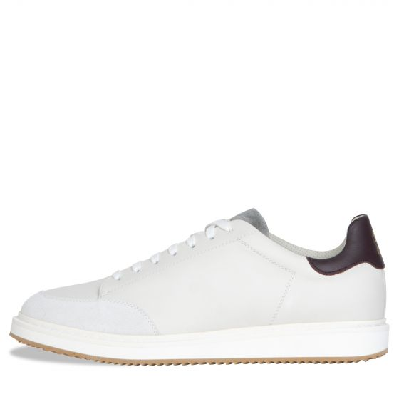 BRUNELLO CUCINELLI 'Leather And Suede' Trainers White