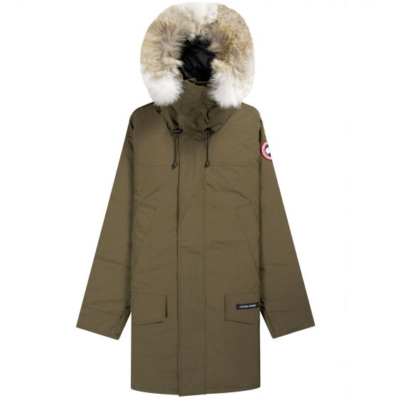 Canada Goose Langford Fur Hooded Parka Military Green
