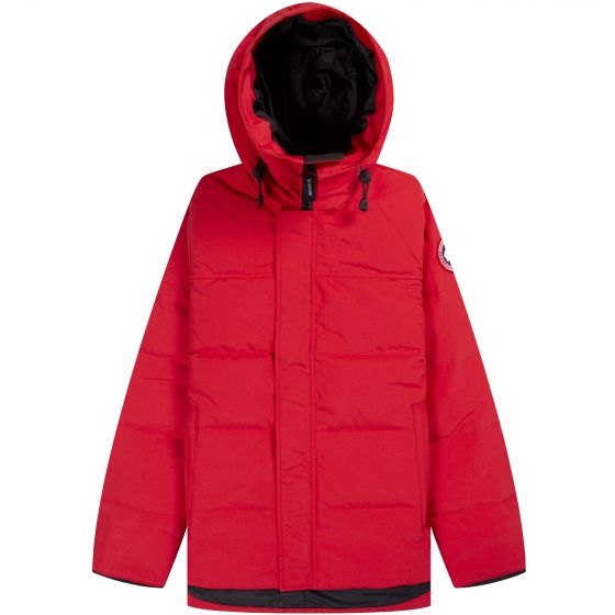 Canada Goose MacMillan Hooded Parka Red