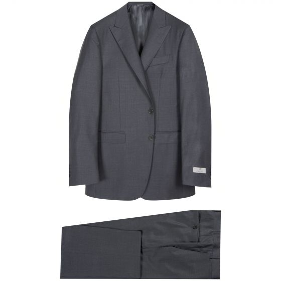Canali Milano Fit Suit Charcoal