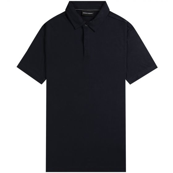 Emporio Armani Classic Soft Touch Polo Shirt Navy