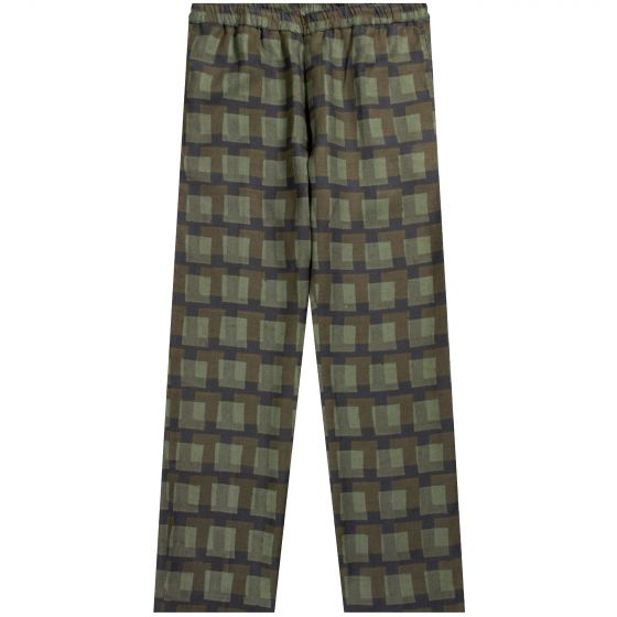Dries Van Noten Len Lye Parkino 'Colour Cry' Trousers Khaki