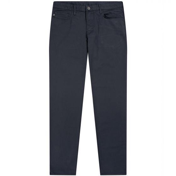 Emporio Armani 5 Pocket J06 Chino Jean Navy