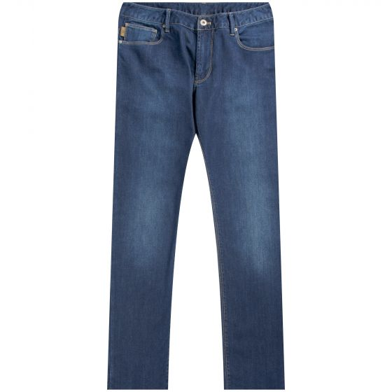 Armani 'J06 5' Pocket Jean Mid Wash
