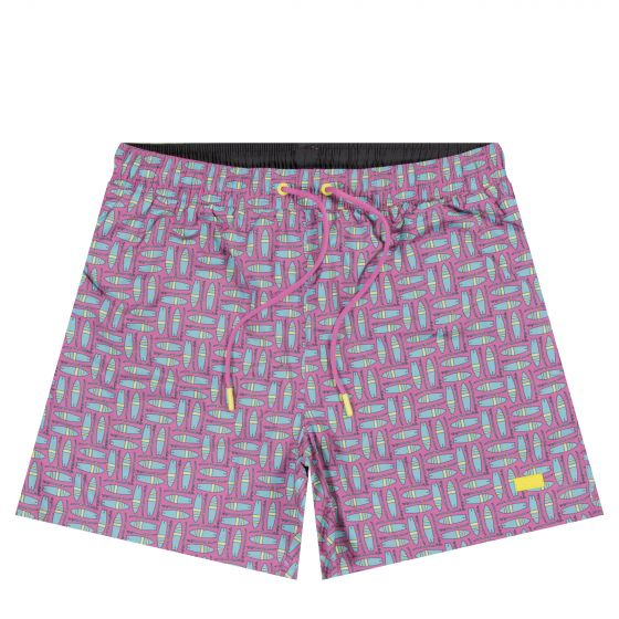 HUGO BOSS 'Freefish' Swim Shorts Pink