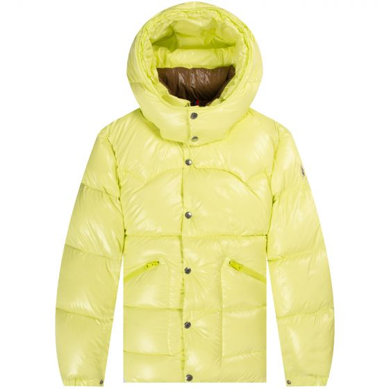 Moncler 'Coutard' Down Jacket Yellow