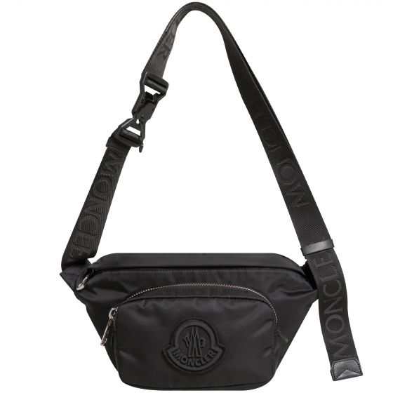 Moncler 'Durance' Belt Bag Black