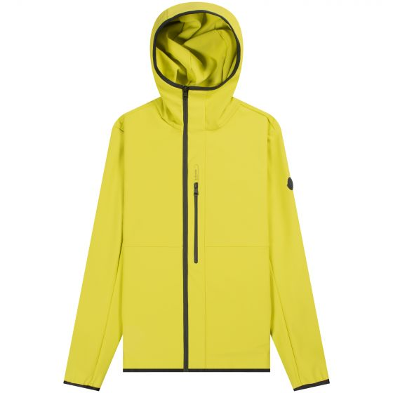 Moncler 'Darc' Hooded Shell Jacket Yellow