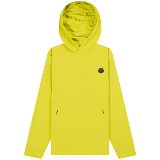 Moncler 'Escalle' Pull Over Light Jacket Yellow