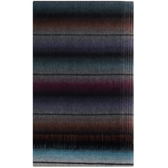 Paul Smith Navaho Wool Cashmere Scarf Multi