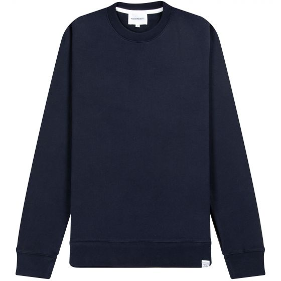 Norse Projects Vagn Classic Sweatshirt Navy