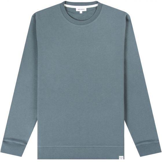 Norse Projects 'Vagn' Classic Crew Mineral Blue
