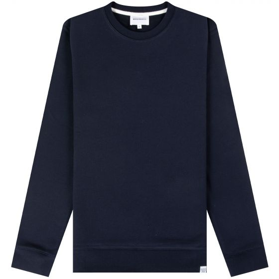 Norse Projects 'Vagn' Classic Crew Dark Navy
