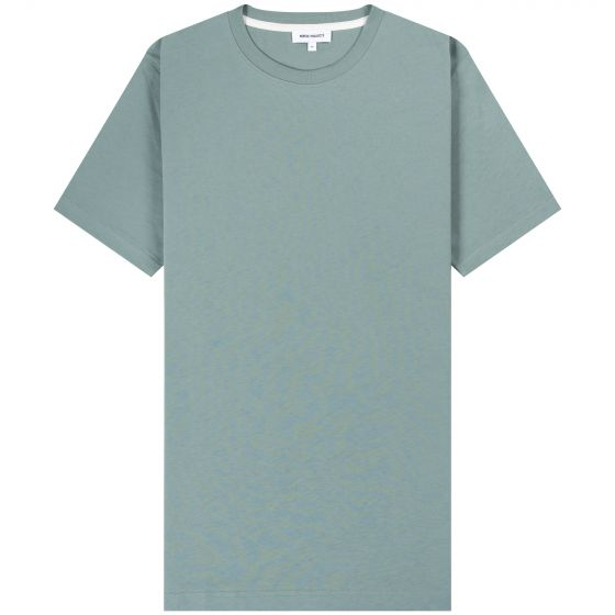 Norse Projects 'Niels Standard' SS T Shirt Mineral Blue