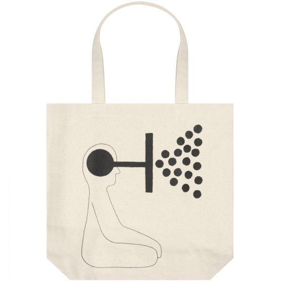 Geoff McFetridge X Norse Projects 'GM x NP' Tote Bag Kit White