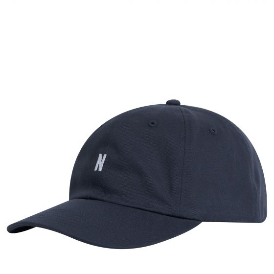 Norse Projects 'Twill Sports Cap' Navy