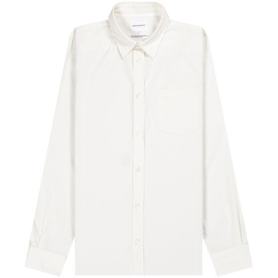 Norse Projects 'Osvald' Corduroy Shirt Oatmeal