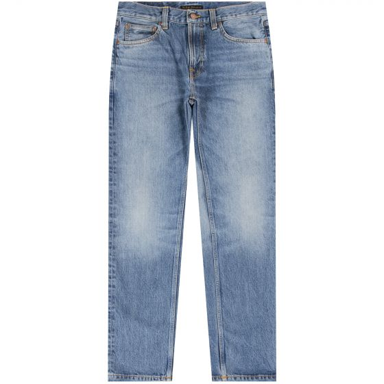 Nudie 'Gritty Jackson' Old Gold Jean Washed Blue