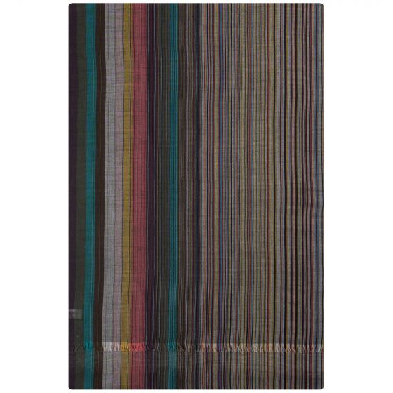 Paul Smith Artist Clash Wool Scarf Multi