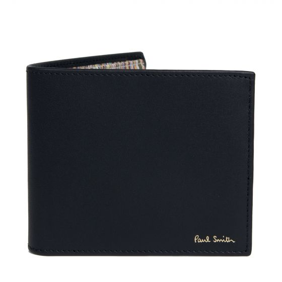 Paul Smith Billfold Coin Wallet Internal Multi Black