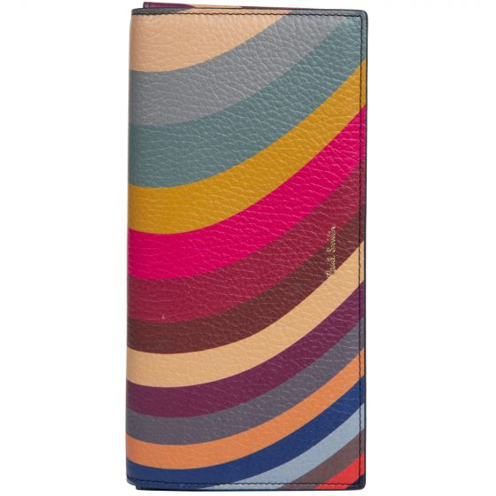 Paul Smith Ladies Trifold Purse Swirl