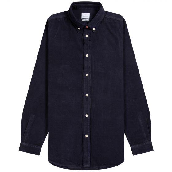 Paul Smith PS Needle Cord Button Down Shirt Navy