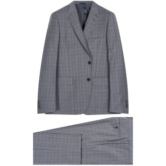 Paul Smith Soho Tailored Check Suit Grey