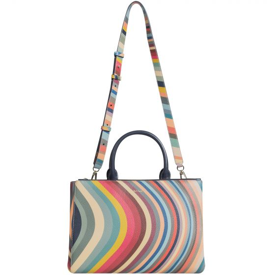 Paul Smith 'Tote Bag' With Swirl Edge Multi
