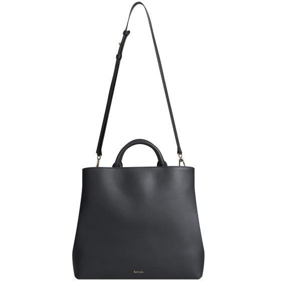 Paul Smith 'Tote Bag' With Swirl Edge Black
