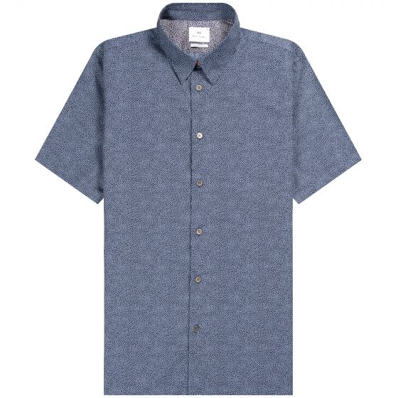 Paul Smith PS 'Polka Dot' Shirt Blue/Navy