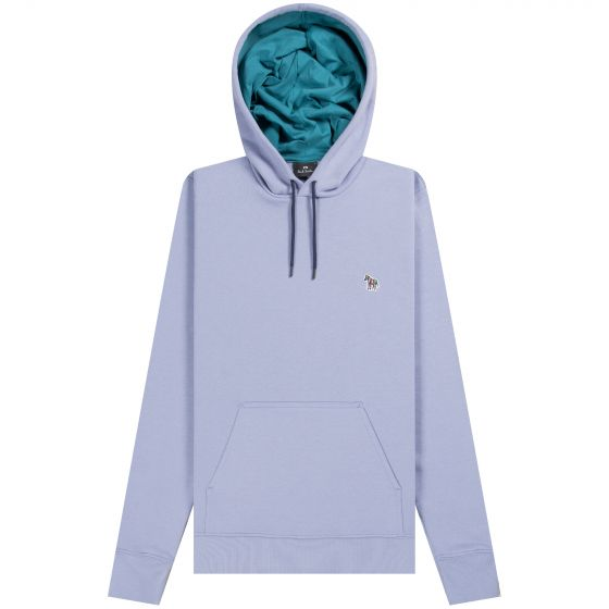 Paul Smith PS 'Popover' Hooded Sweatshirt Lilac