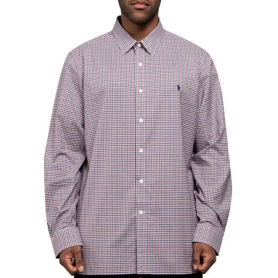 Polo Ralph Lauren Classic Gingham Check Shirt Brown/Red