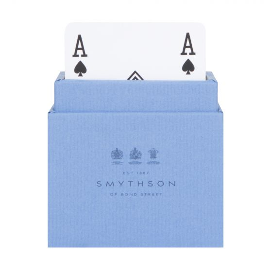 SMYTHSON 'Playing Cards' Twin Pack Blue