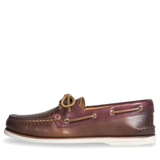 Sperry Gold Cup Camden Boat Shoe Leather Brown
