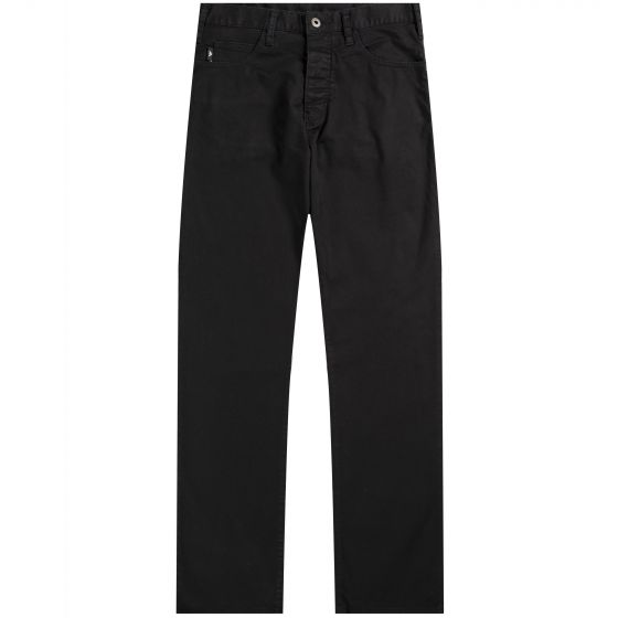 Emporio Armani 'J21' Classic Regular Fit Jeans Black