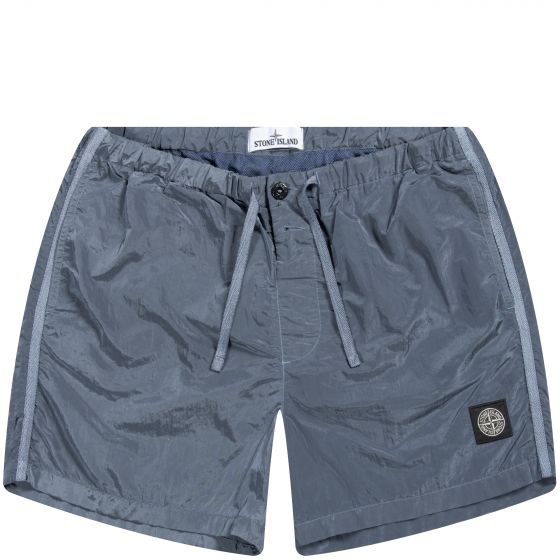 Stone Island Classic Nylon Swimmer Powder Blue
