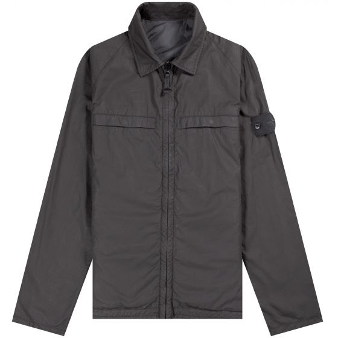 Stone Island 'Ghost' Reversible Stretch Wool Nylon Jacket Black