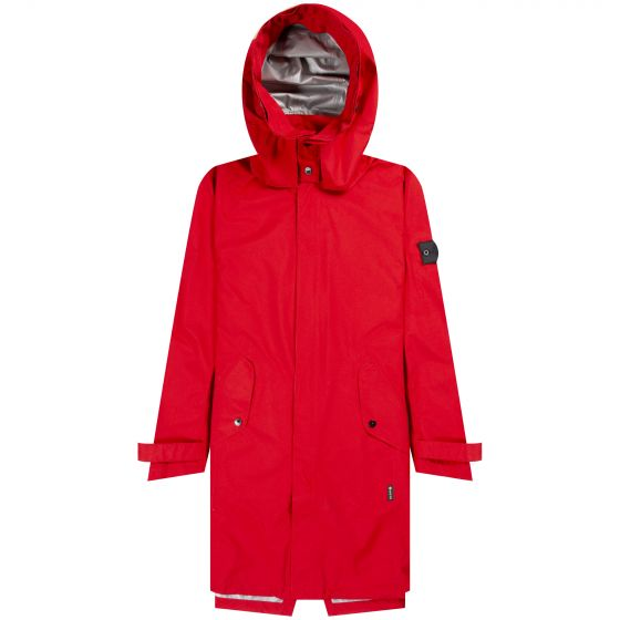 Stone Island Shadow Project  Gore-Tex 'Paclite' Semi Lined Hooded Parka Red