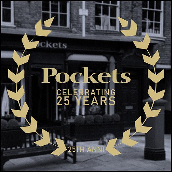 CELEBRATING '25 YEARS' AT POCKETS