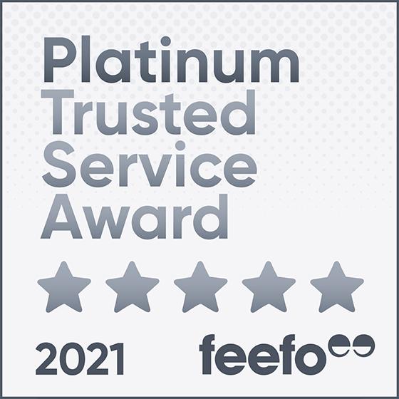 Pockets receives Feefo Platinum Trusted Service Award 2021