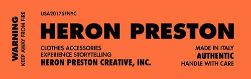 Heron Preston Logo